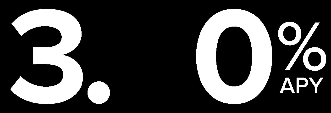 3._0%APY